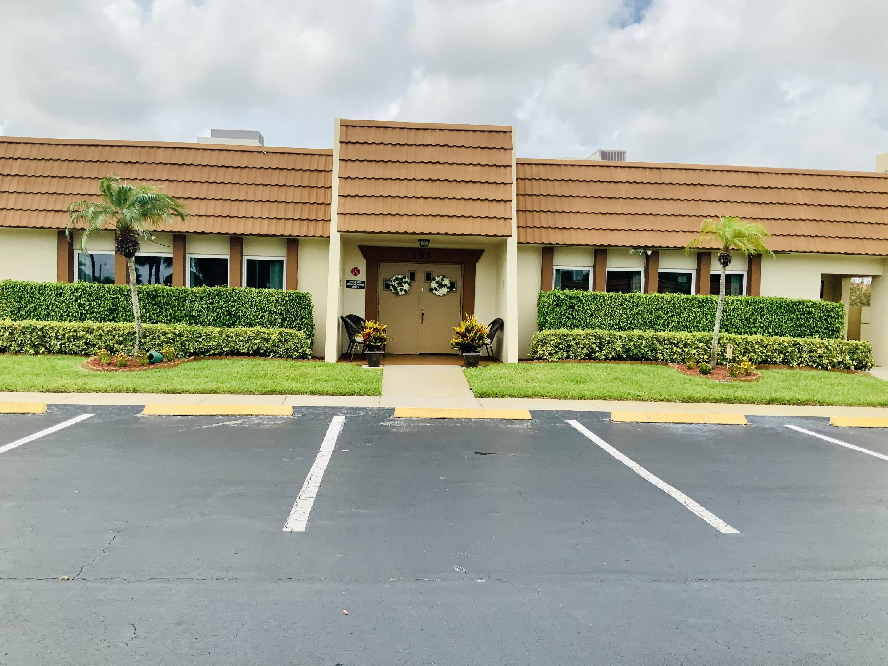 Home for sale in Cresthaven Townhomes West Palm Beach Florida