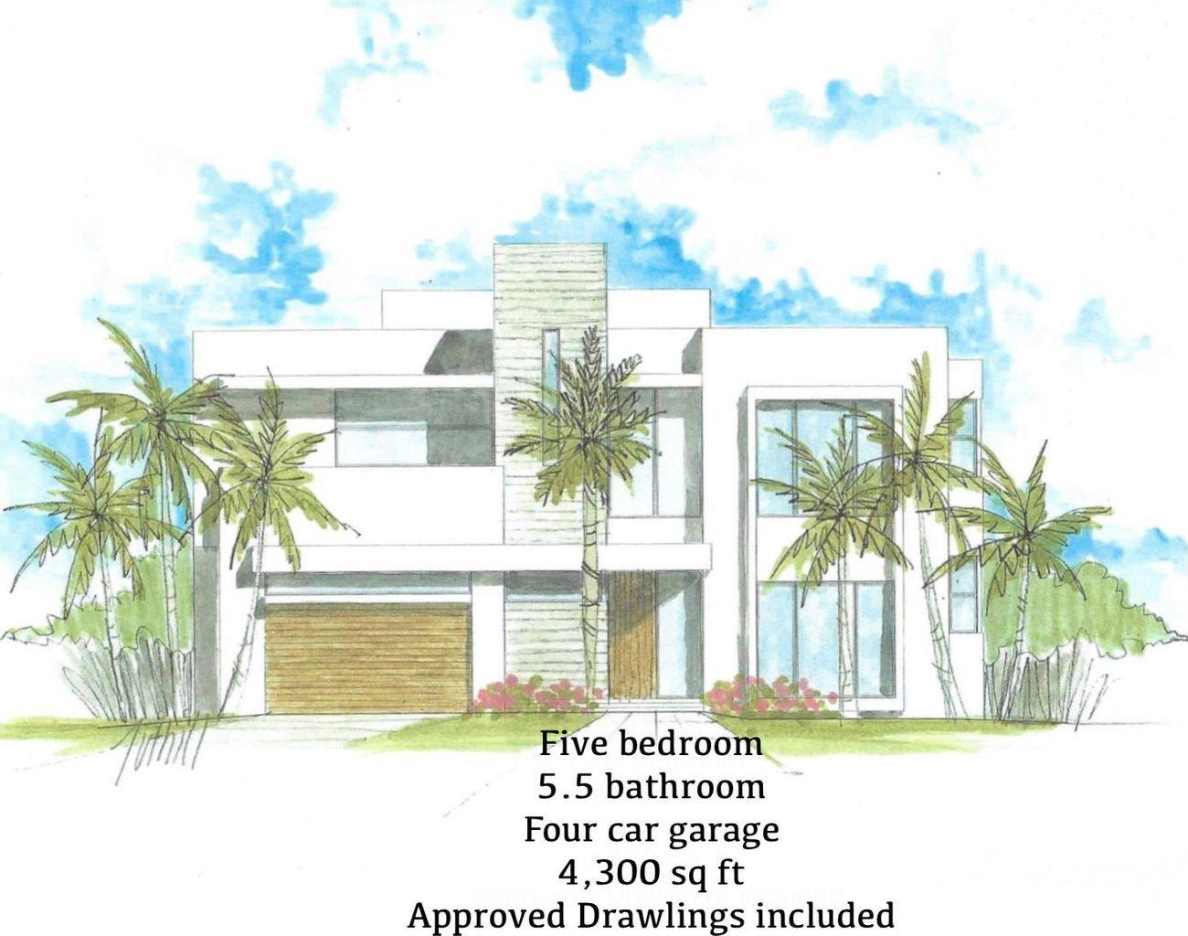 1725 BLUE WATER TERR FRONT ELEVATION
