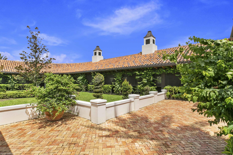 Barn courtyard