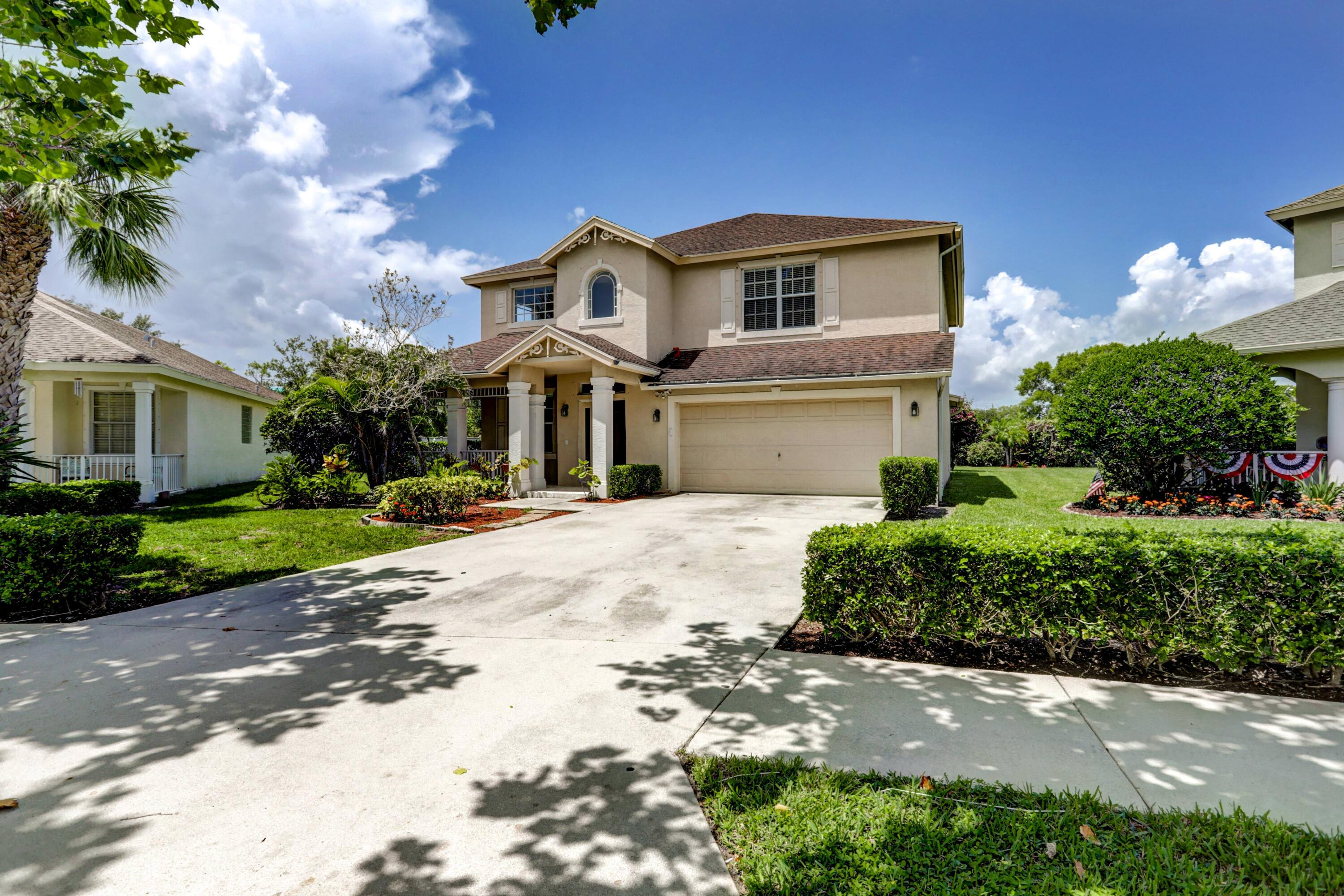 On lockbox. Easy to show. Come and see a beautiful 2 story home with 4 bedrooms, 3 full bathrooms, and 2 car garage on a big lot in a quiet neighborhood. Room for pool.  Welcoming living room and formal dining area. Less than 2 miles to the beach and downtown.