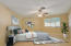 Primary Bedroom Virtually Staged Upstairs