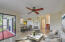 Dinning/Living Room Combo Virtually Staged