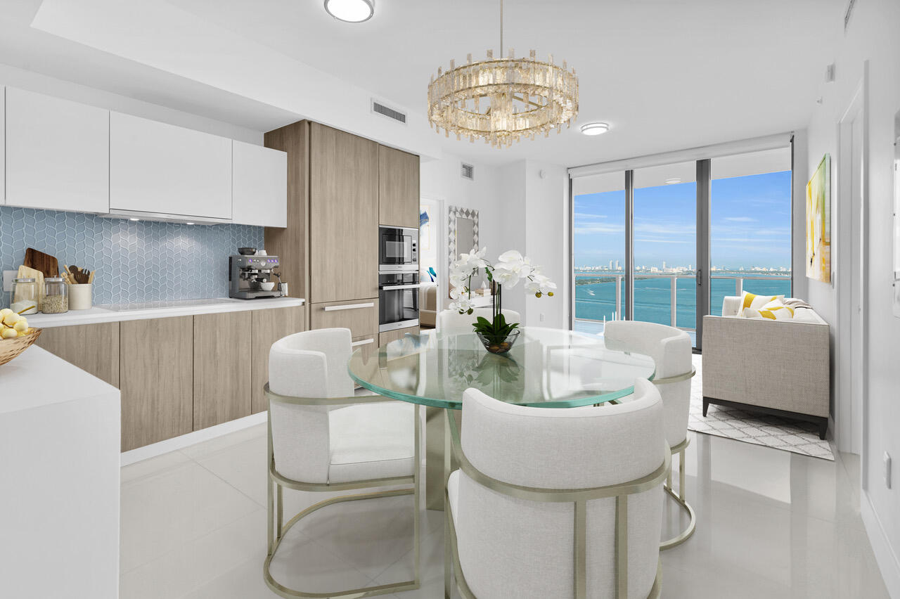Virtually Staged Living/dining