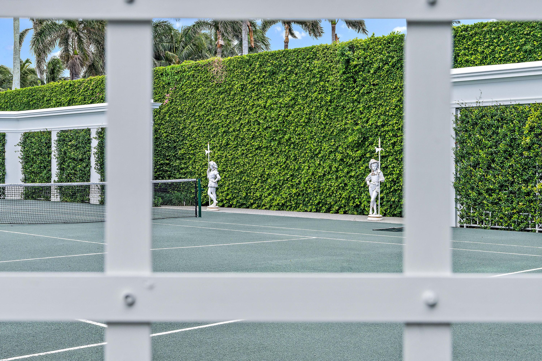 Tennis sentries