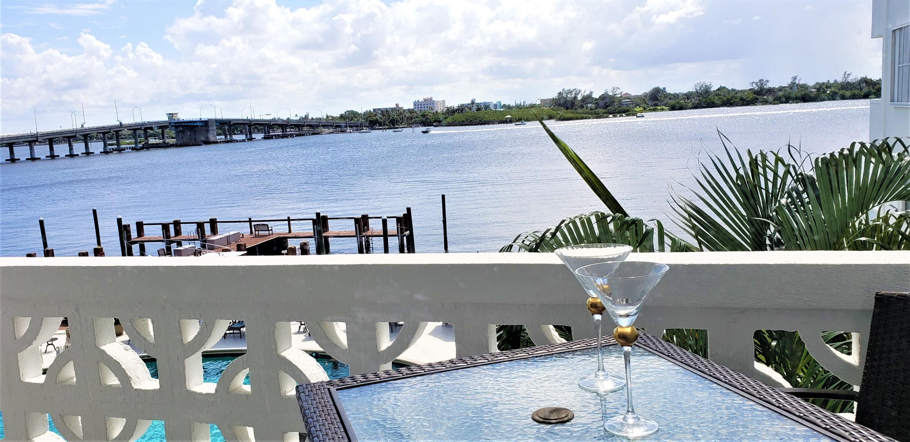 Capture this rare opportunity to own a one bedroom condo, in the town of Palm Beach, with direct Intracoastal views from every room!  Don't pay for renovations you don't really like. Bring your decorator and make this gem your own. This co-op requires cash only purchases and rentals are allowed every other year after the first year of ownership. The Royal Saxon provides a 24 hour doorman, on sight building manager, laundry rooms on each floor, heated pool, fitness room, and community room. Dock space is available for an extra fee of $5 sq ft/ mo. Located North of the Lake Ave Bridge and directly across the street from both The Four Seasons and Tidelines Resort. Don't miss out! It won't last long!