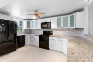 Kitchen renovated