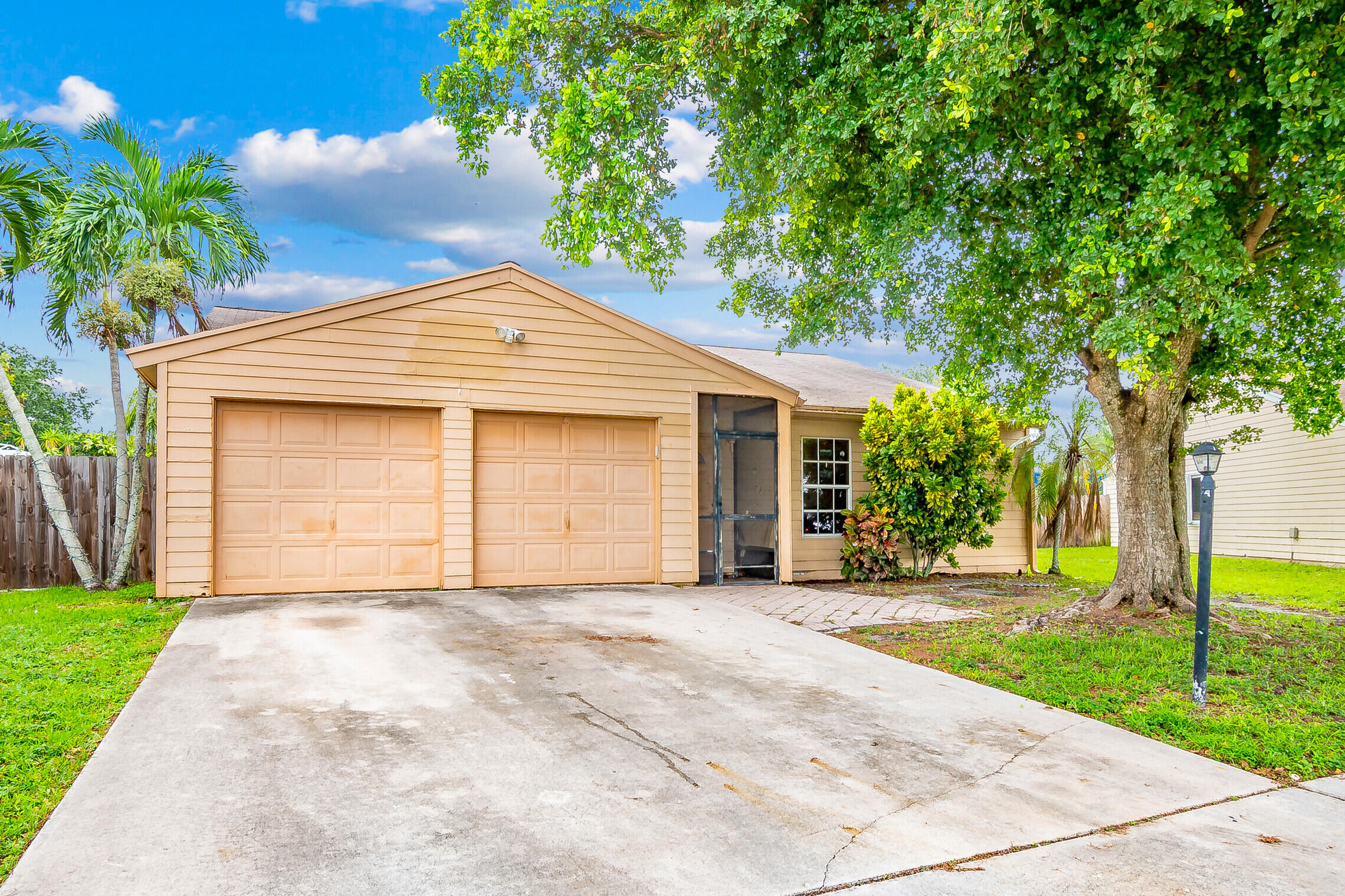 Home for sale in COUNTRYWOOD PLAT NO 4 Lake Worth Florida