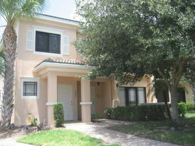 HURRICANE IMPACT WINDOWS. Rarely available gem, 3/2 corner unit in the heart of Palm Beach Gardens. Unit has interior stairs, storage closet under stairs and carpet in all living spaces. Kitchen has granite counter tops, full size washer dryer. Rent includes water, sewer, valet trash. Community offers gym, soon to be heated pool and upgraded gate system (in process). Unbelievable location, walking distance to Gardens Mall and Down Town at the Gardens with restaurants, movie theater, Whole Foods, and an amazing array of high class shopping. In close proximity to Palm Beach State College, Nova South Eastern University and FAU Campus in Jupiter. Easy access to I-95 and Turnpike. Pet will be considered at the discretion of owner and annual pet fee
