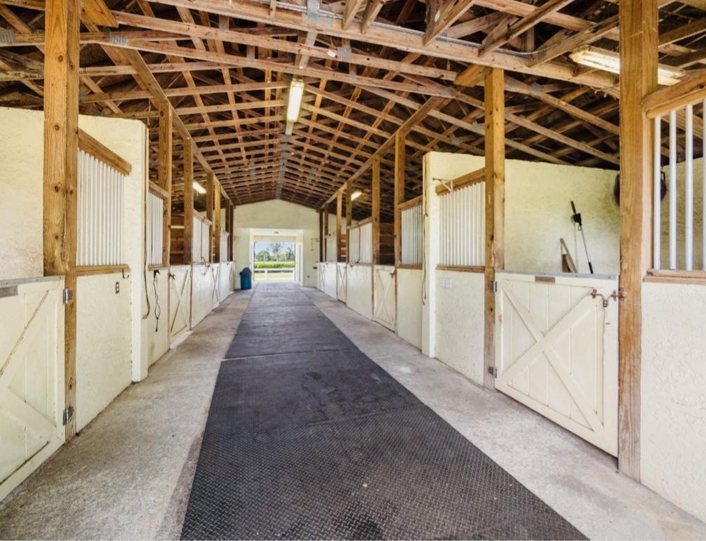 Barn Inside