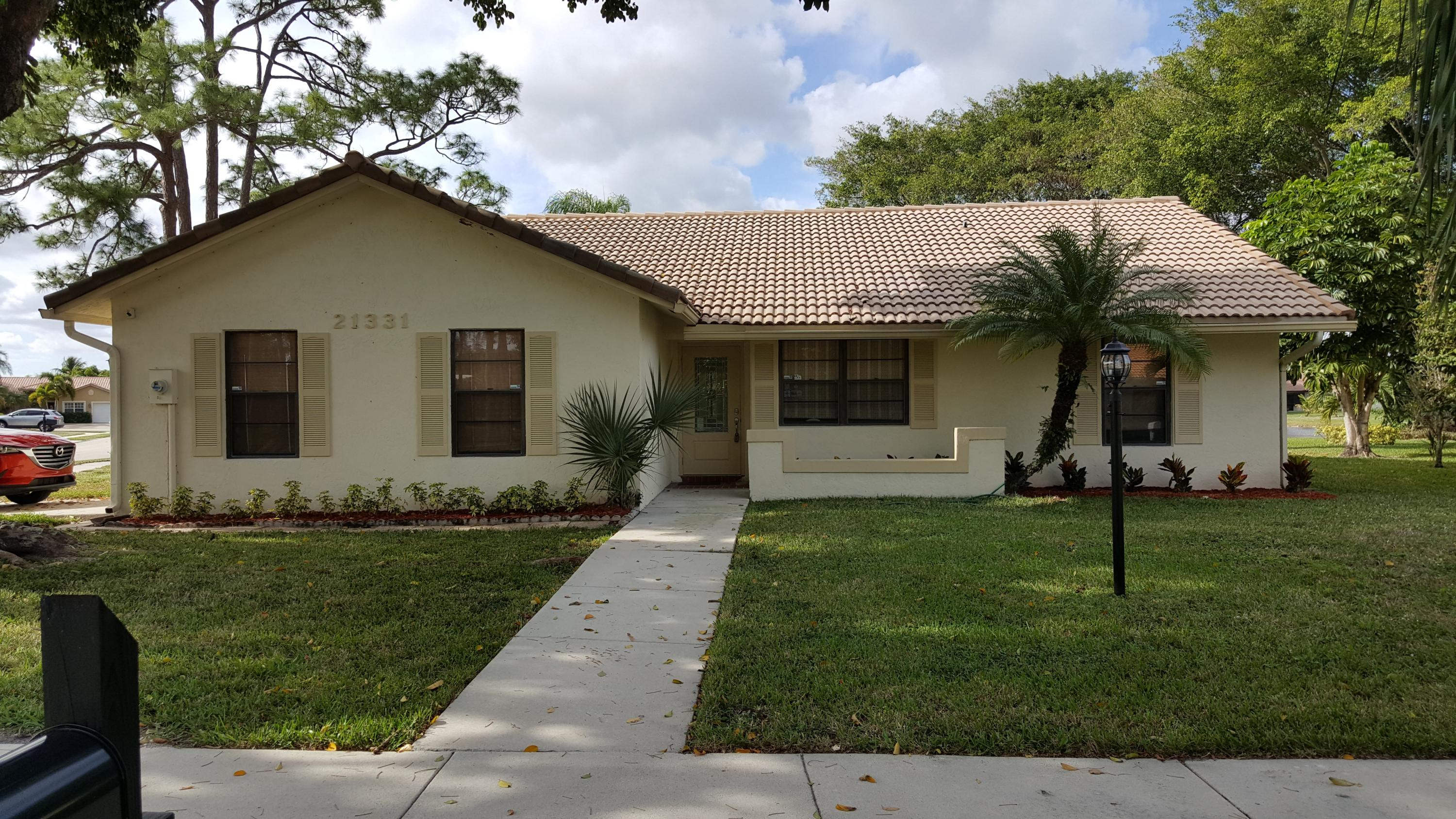 21331 Chinaberry Drive - 3/2 in TIMBERS OF BOCA