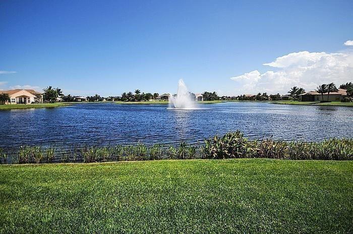 Valencia Palms Fountain
