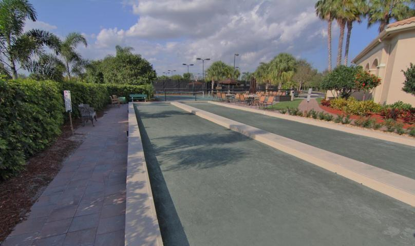 2 Bocce Courts