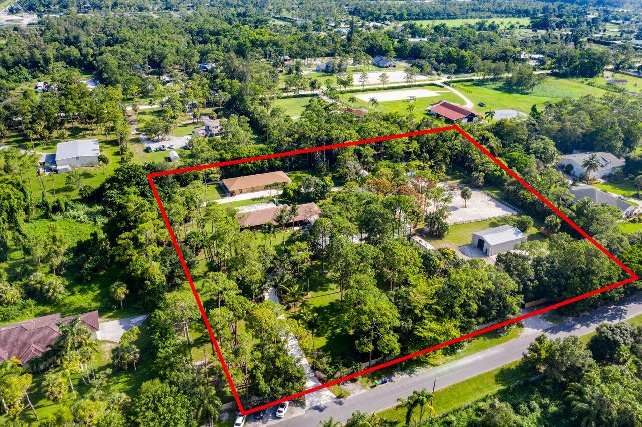 aerial whole property
