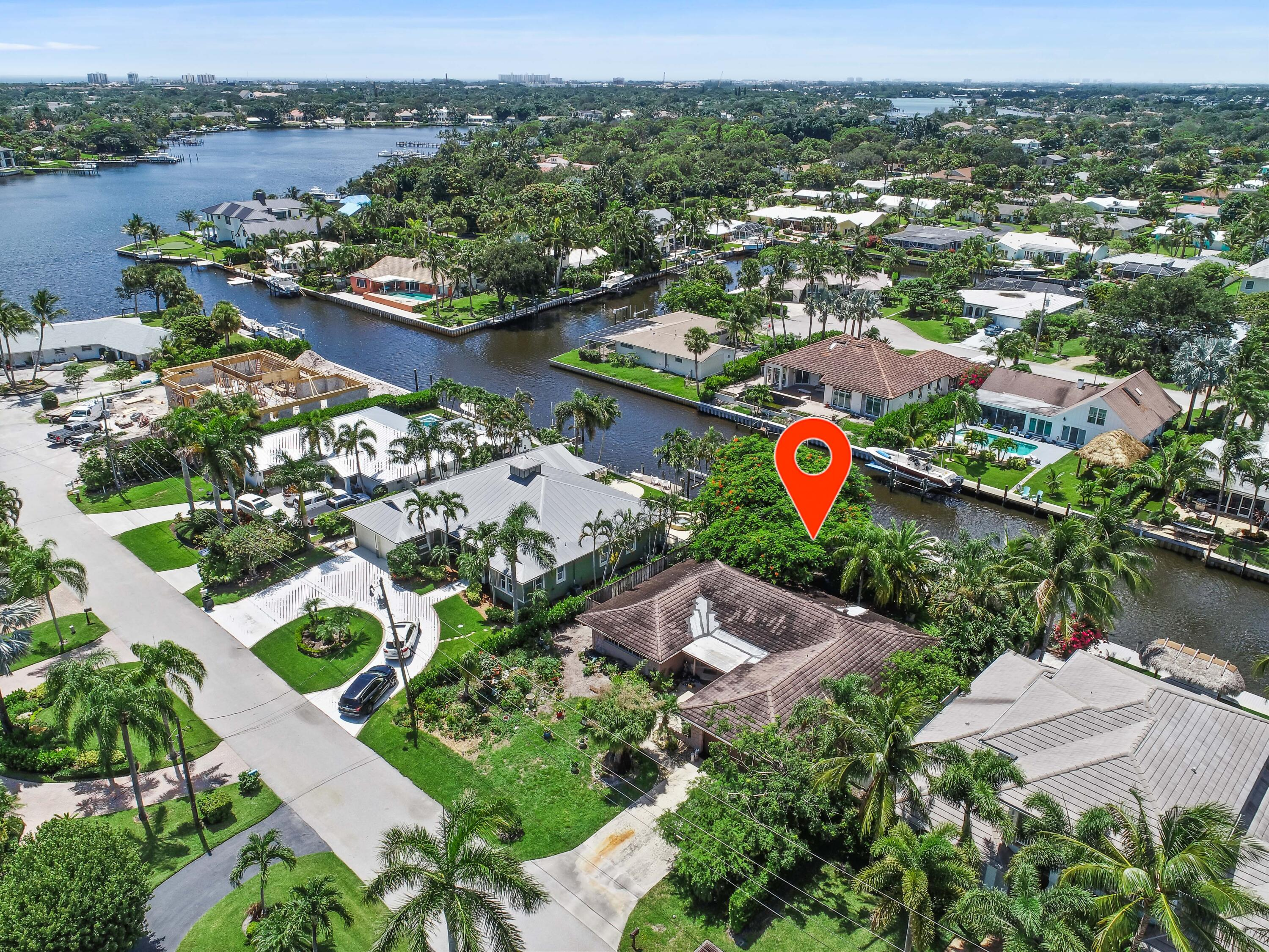 Home for sale in Country Club Point Tequesta Florida
