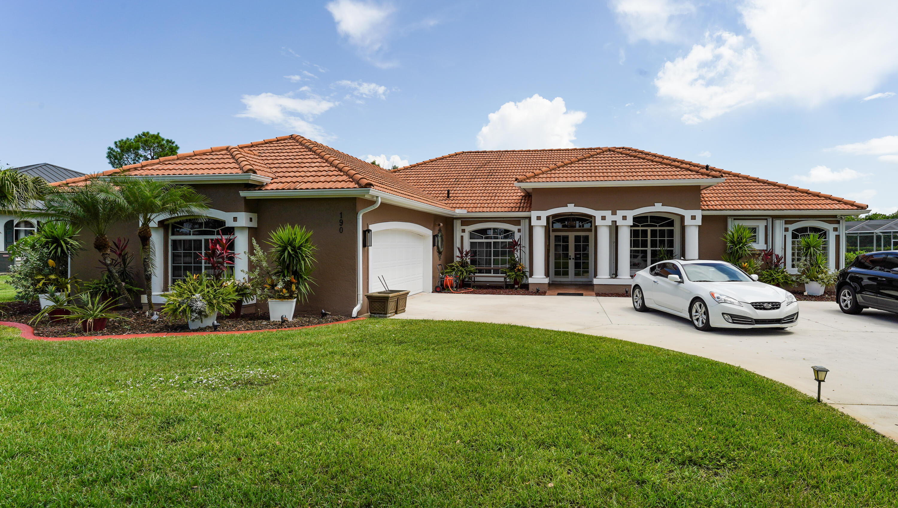 WOW! Custom 4 bedroom/3 bath POOL Home located in the private community of Osprey Ridge. Home sits on .71 acres which backs up to a preserve. House has EVERYTHING: Italian Porcelain tile, tray ceilings, Magnificent 4 pocket sliders that open up completely to your outdoor paradise. Enjoy your heated pool with a jacuzzi and water fall. Kitchen boasts granite counter tops, new tile backsplash 2 custom pantries and so much more.Double front door has electric shutters rest of the house has accordion shutters along with a whole house 30K back-up generator.500 gallon Propane gas runs generator, stoveand tankless hot water heater.Too many upgrades to list.  MUST SEE! Florida living at it's best. Don't wait to see and call this house your NEW HOME!