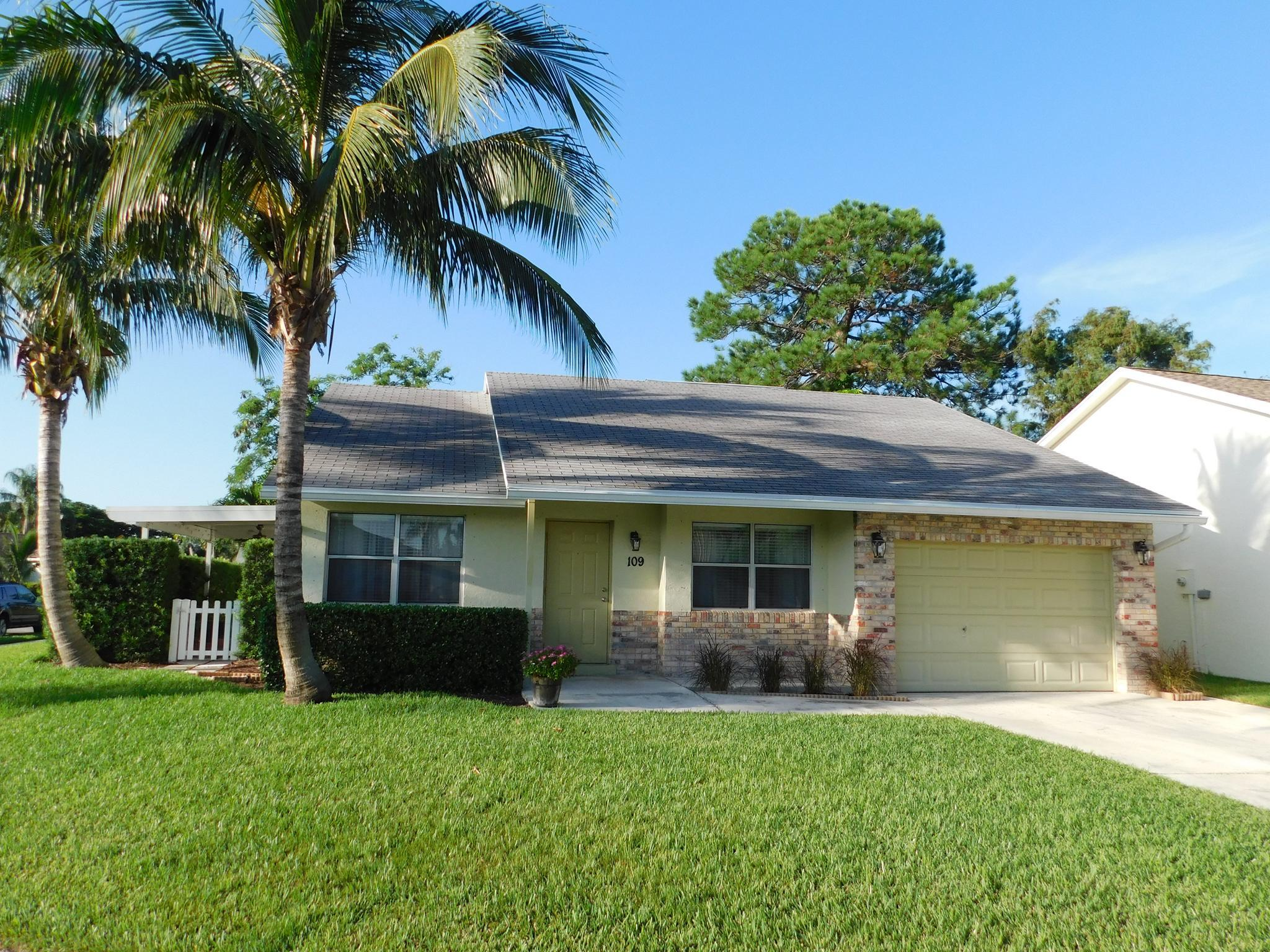 Move-in ready 3BD/2BA single family home in Indian Creek. Open floor plan, vaulted ceiling, large corner lot, covered patio, fenced back yard, new A/C in 2018. Low HOA fees, A+ rated schools, and great location. Convenient to I-95 & Turnpike. Community pool membership available for residents.