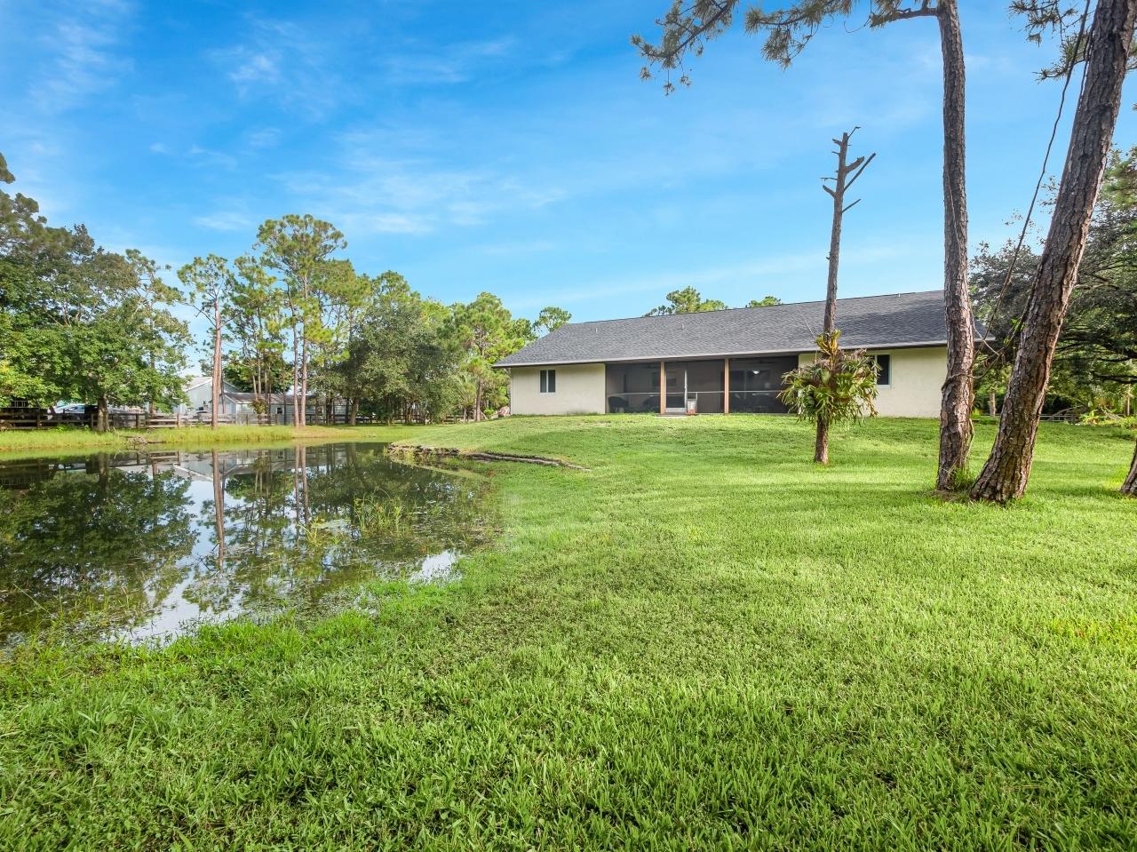 1+ Acre Property w/ Stocked Pond