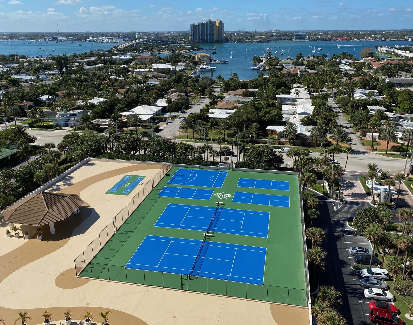 30 Tennis Courts