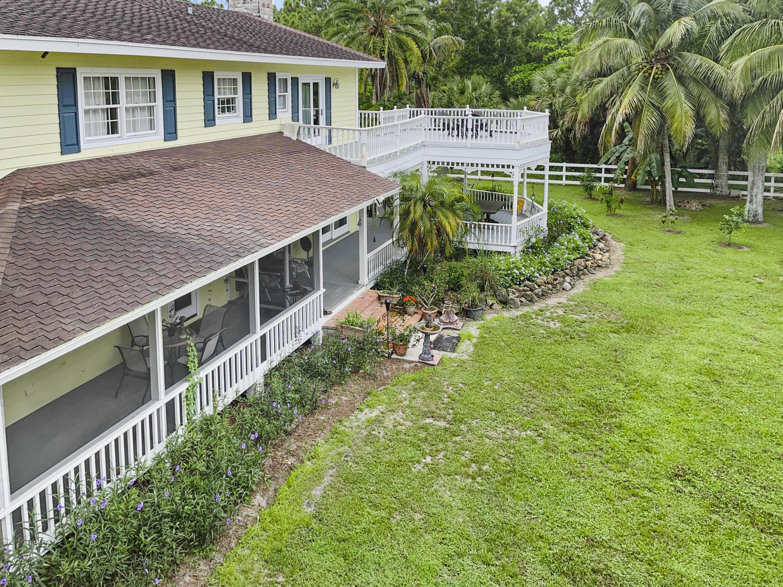 Main House rear