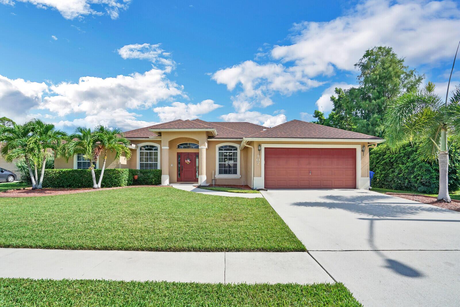 107 Sycamore Drive Royal Palm Beach, FL 33411