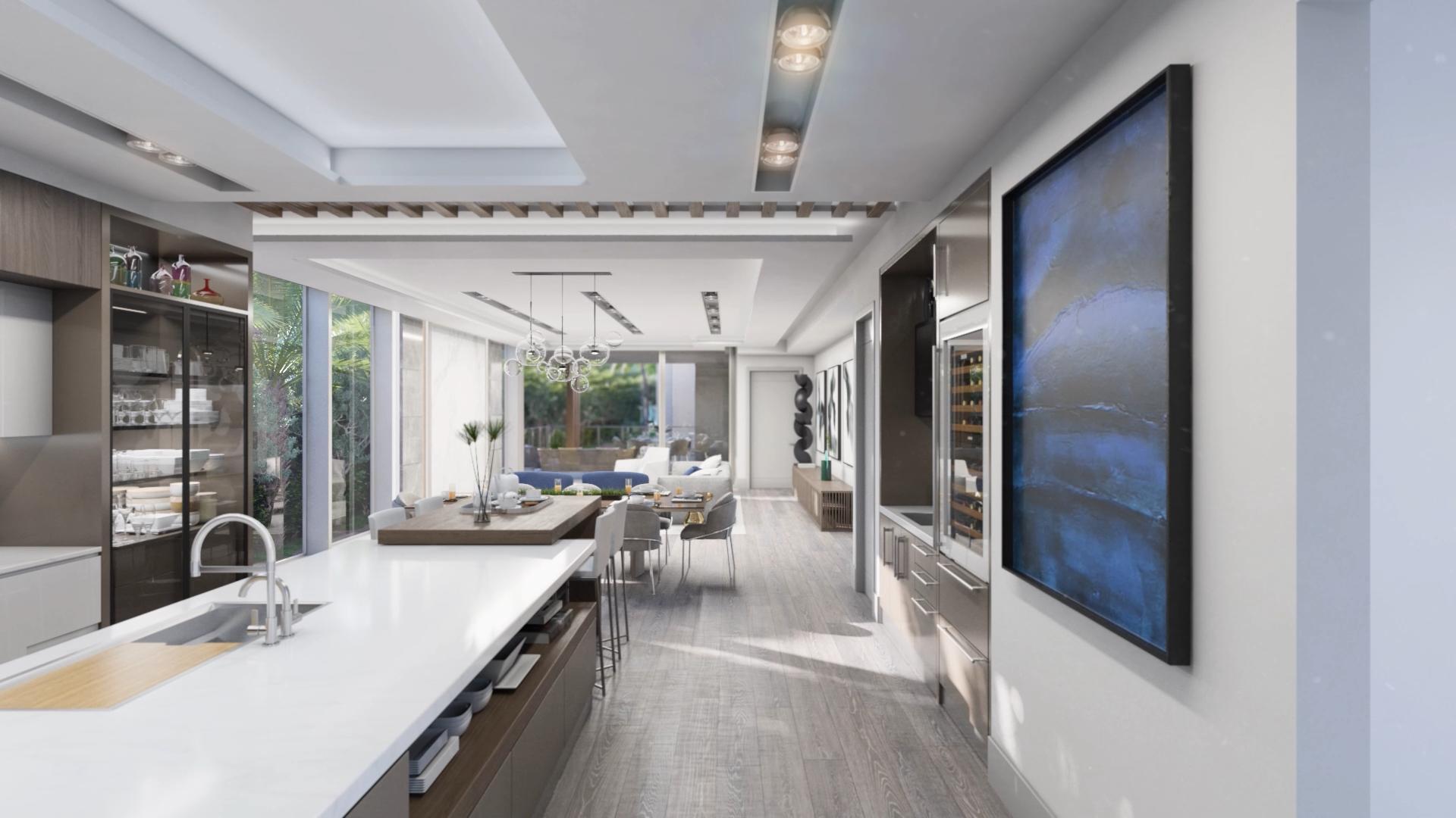 Calder - Kitchen & Living