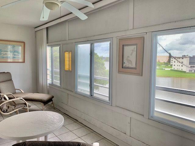 Enclosed Patio w/Lake View