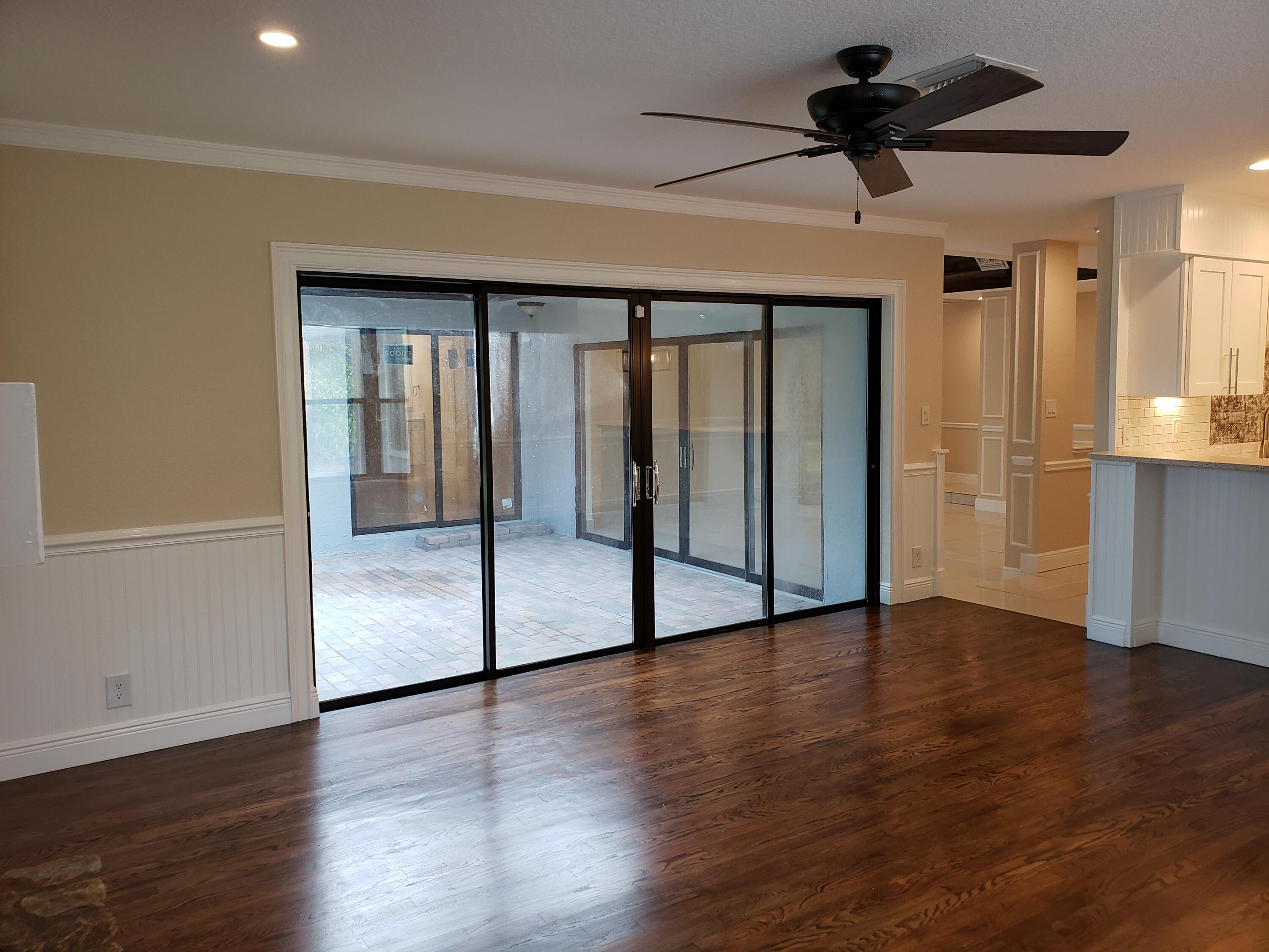 Family Room to screened Porch