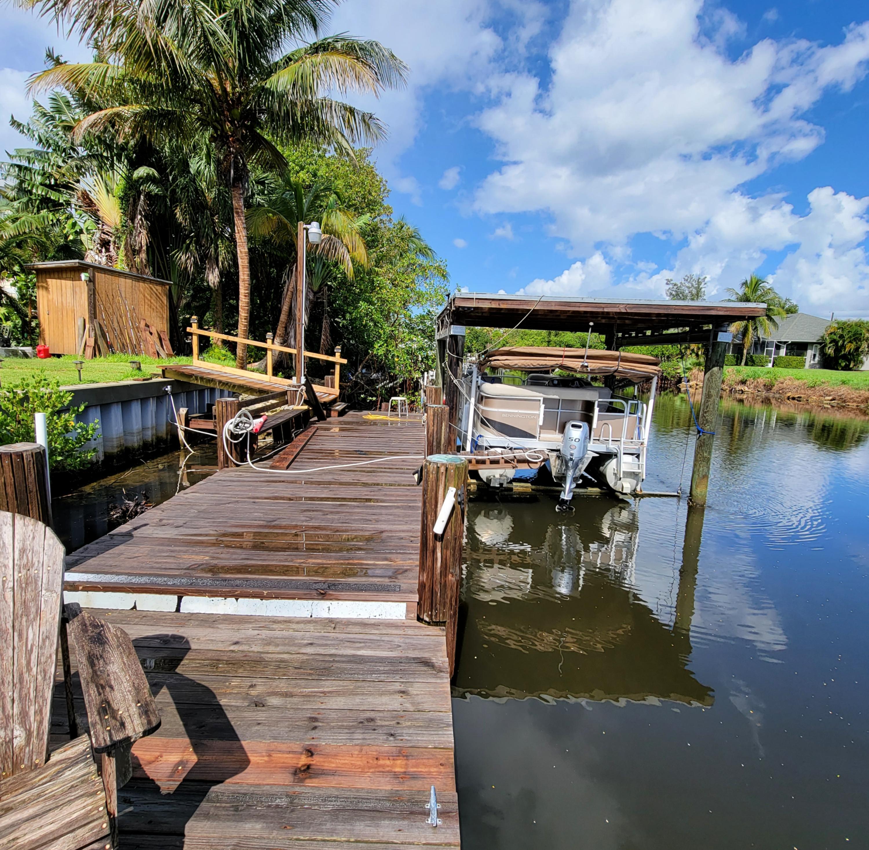 Extended dock for 2nd boat or Jet Ski li
