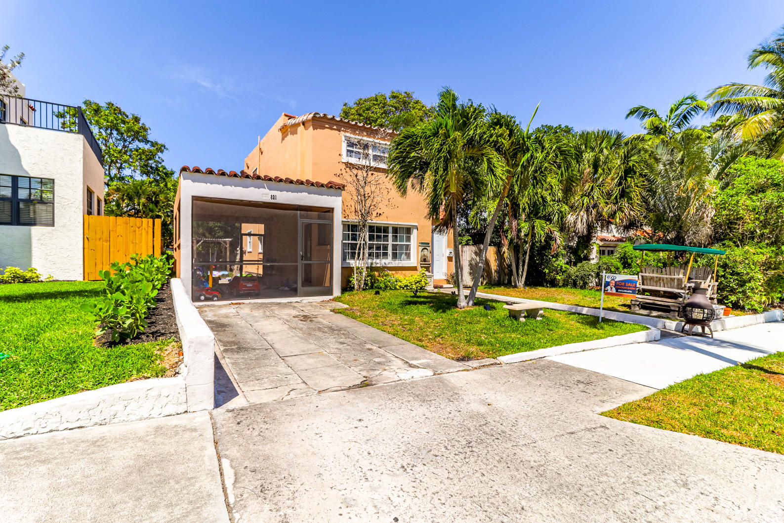 Home for sale in Northwood Historic West Palm Beach Florida