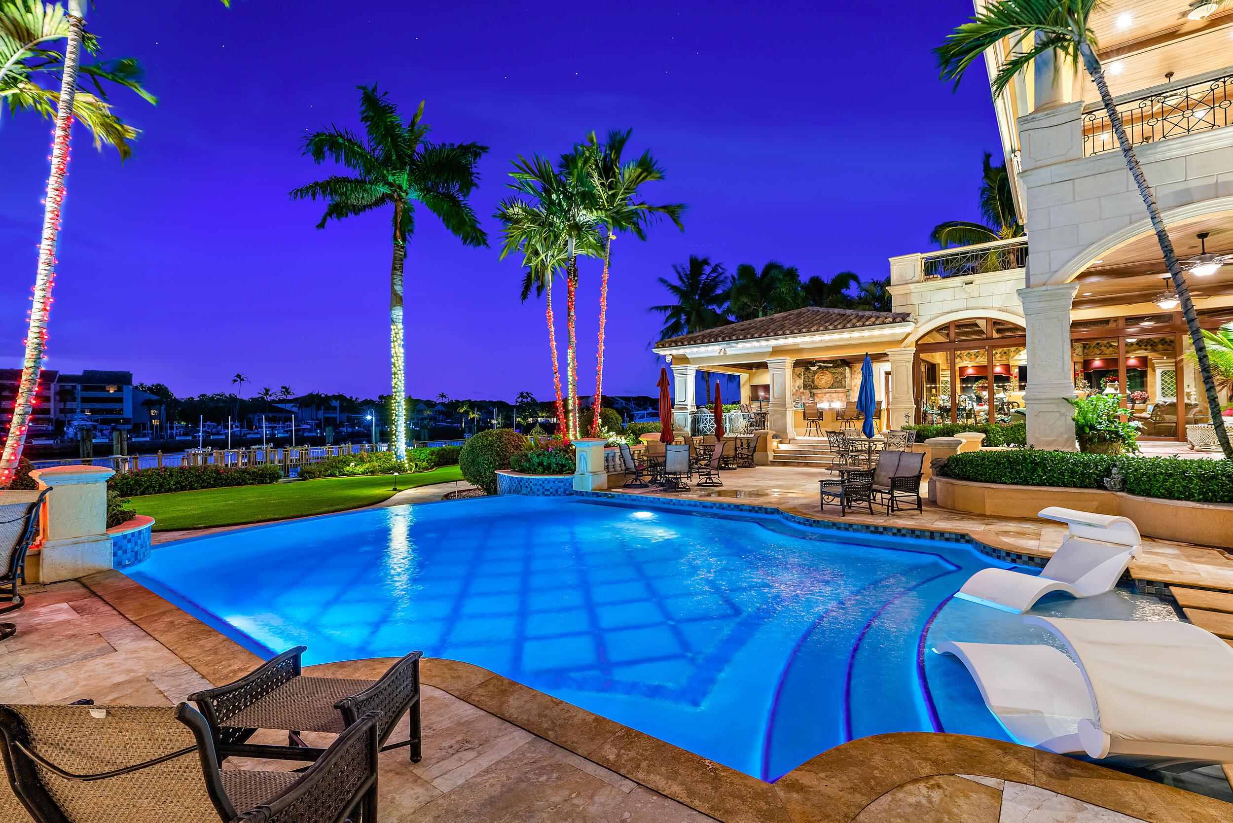 Swimming Pool Twilight