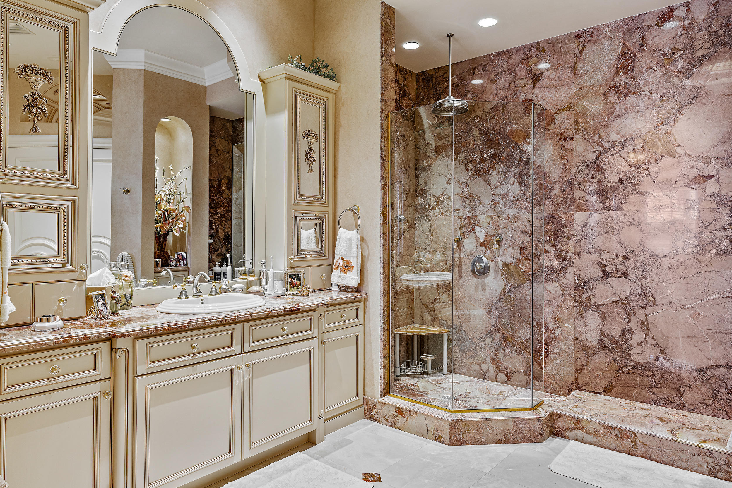Master Hers Bathroom