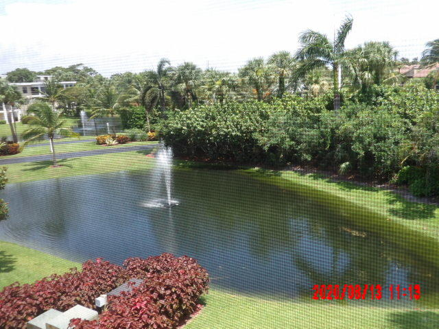 2 Bedroom 2 Bath Condo with views of ponds and fountains. Renovated Master Bathroom.A/C new 2/17, water heater 3 years old. Storm shutters. Steps to main Clubhouse and pool. Walking distance to beach, Carlin Park, Maltz Theater, shopping and restaurants. Few minutes drive to I95 and Turnpike. 30 mins to Palm Beach International Airport.