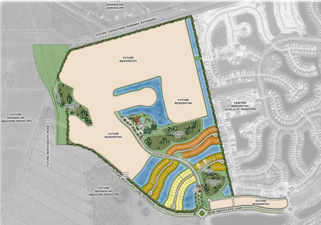 Esplanade Site Map