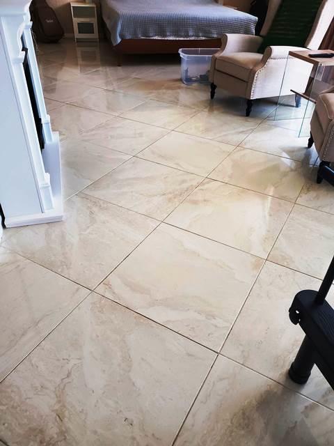 flooring in master