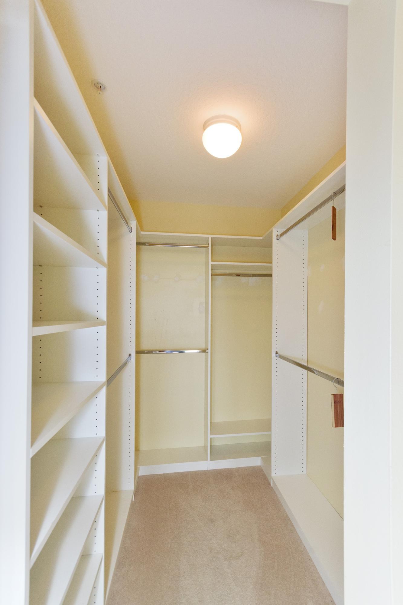 Primary Walk-in Closet-old flooring