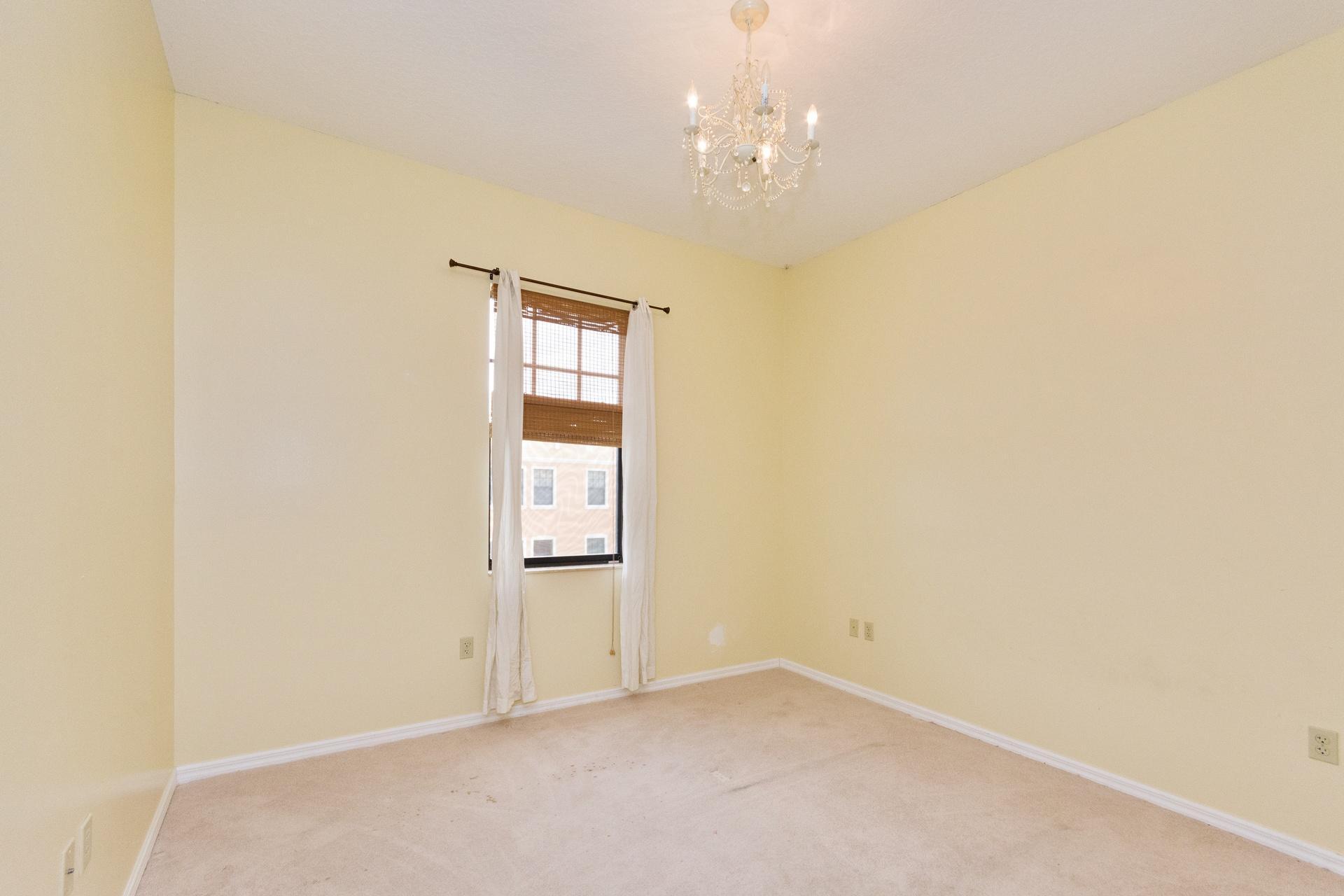 Bedroom 2-before new flooring