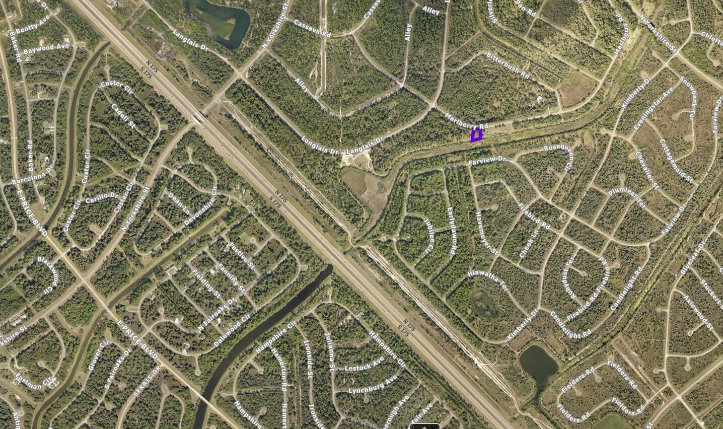 Screenshot MARLBERRY RD NORTH PORT, FL,