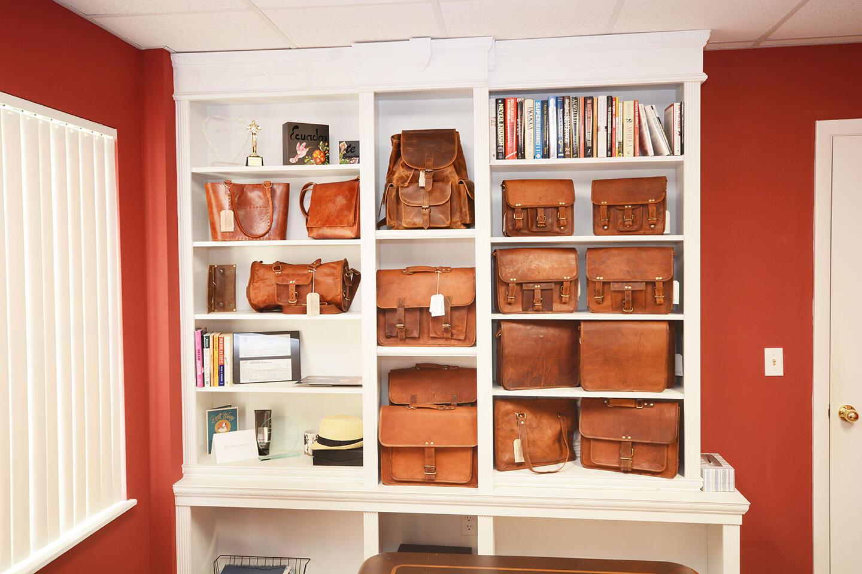 Executive Office Bookshelf