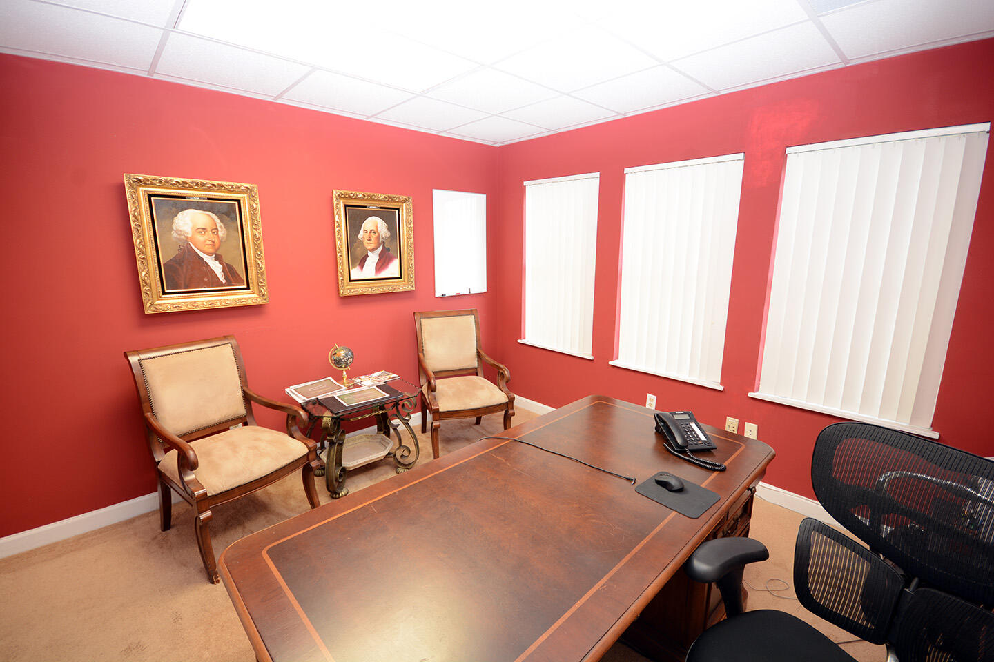 Executive Office Front Wall