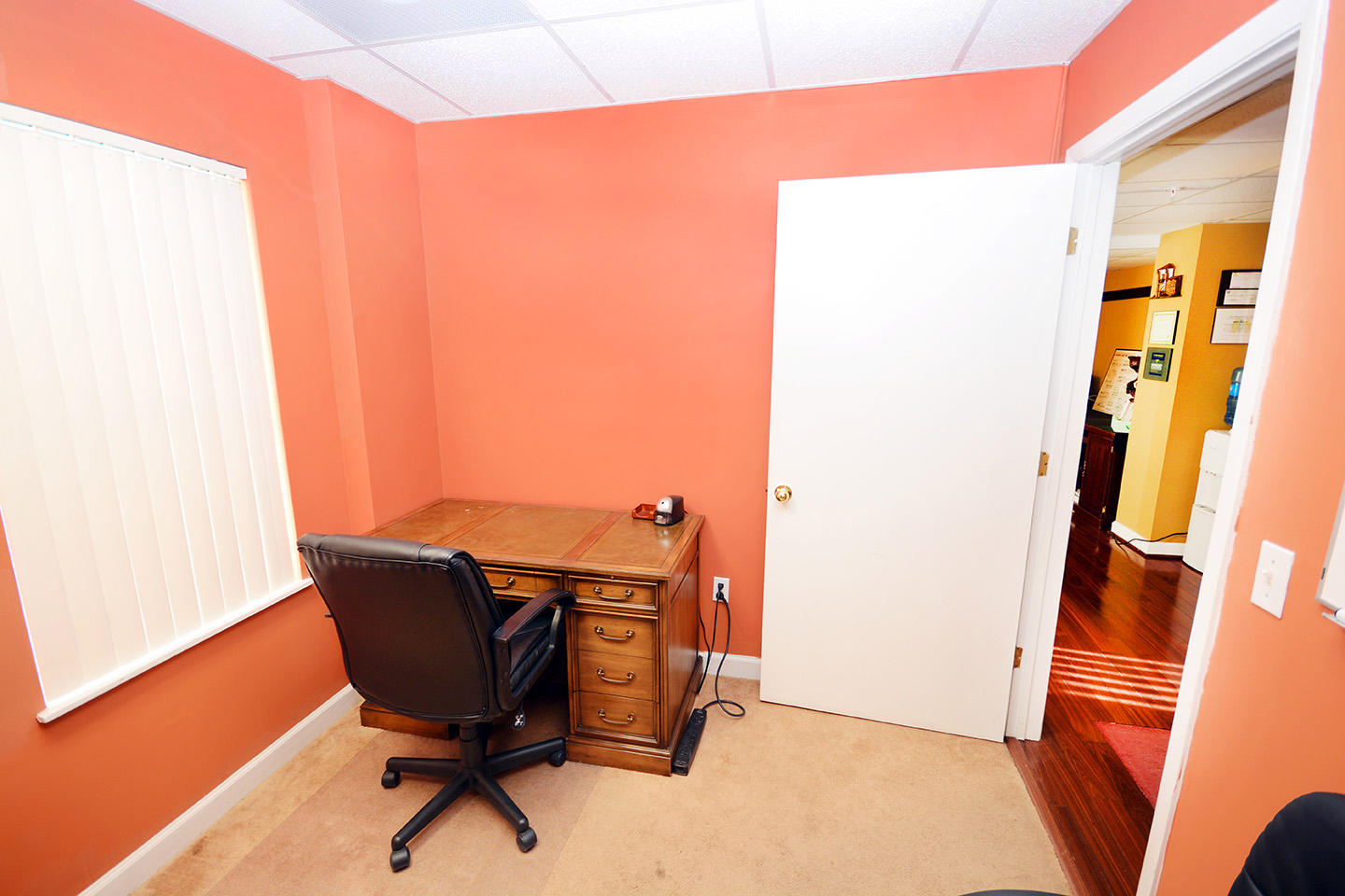 Office 2 Front Wall