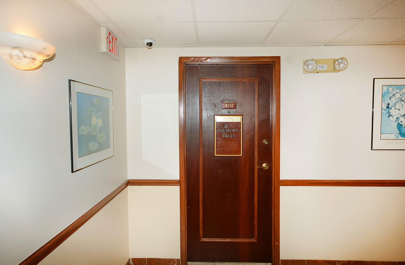 Office Door CCTV Camera