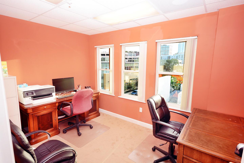 Office 2 Blinds Open