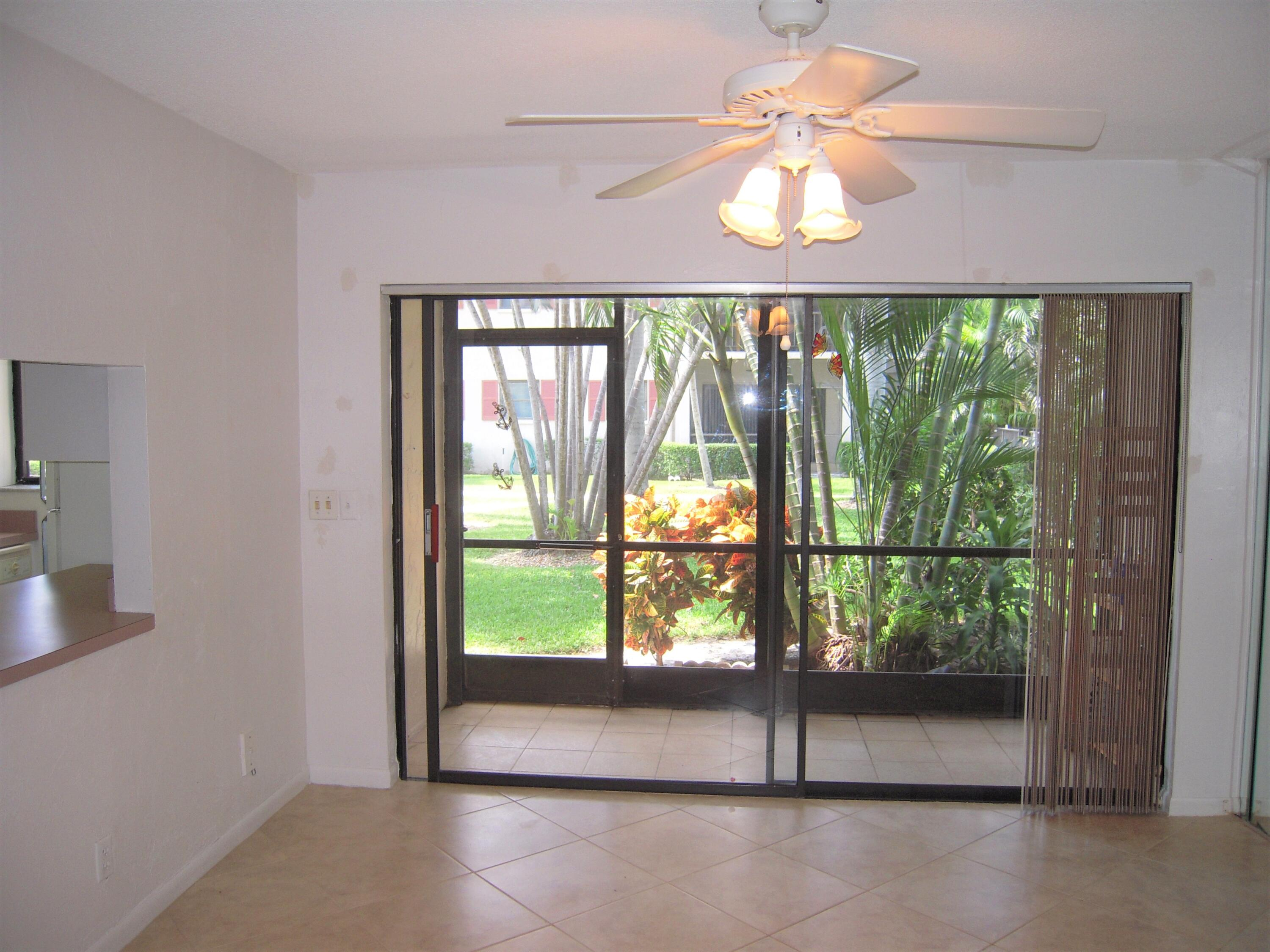Dining Room to Patio