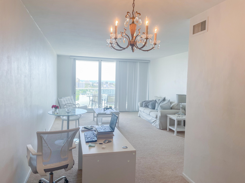 Image Enhanced Living-Dining Room