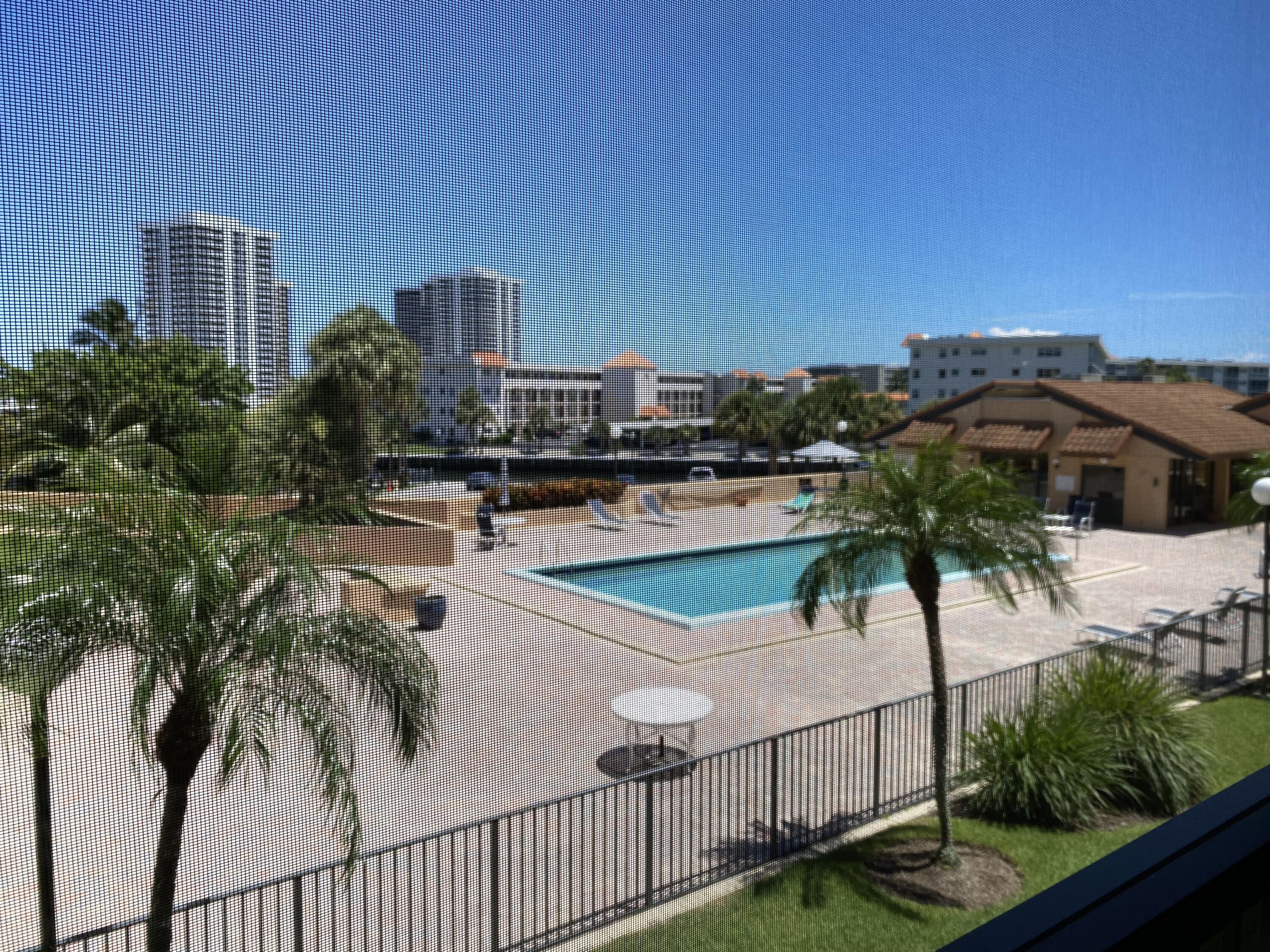 Pool & Clubhouse View