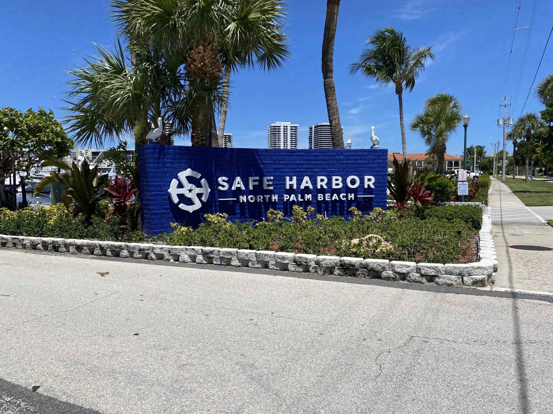 Entrance to Safe Harbor Marina