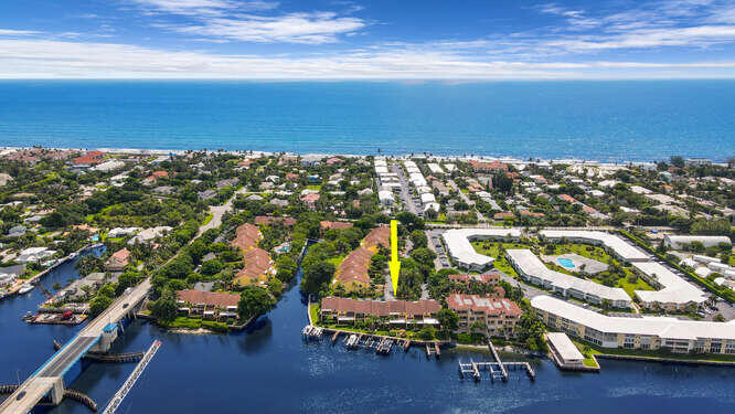 Aerial Direct on unit and water Views