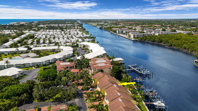 Aerial to Intracoastal South
