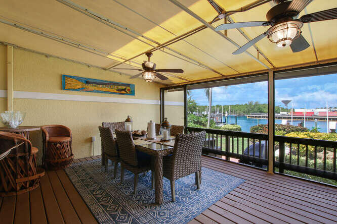 Dining Area Covered Patio