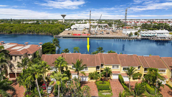 Pin Point of Unit to Intracoastal